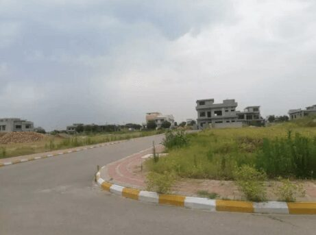 10 Marla Residential Plot For Sale In Block D Topcity Islamabad