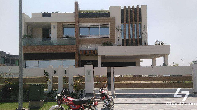 1 KANAL Brand New 5 Bed Bungalow DHA Phase 4 Lahore