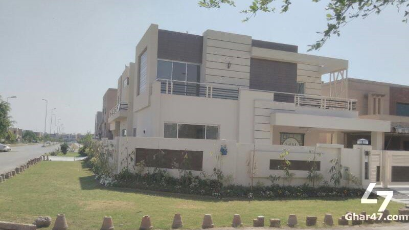 1 KANAL Corner Brand New Bungalow With Basement, DHA Phase 5 Lahore