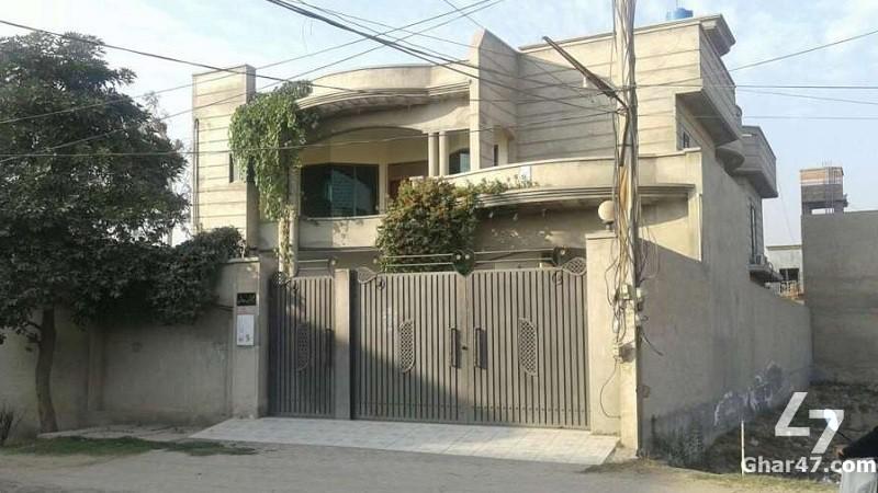 1 KANAL Double Storey House To Sale In Garden Town Multan