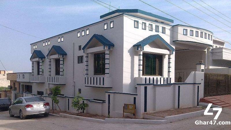10 Marla Brand New House For Sale In Gulshan Abad Rawalpindi