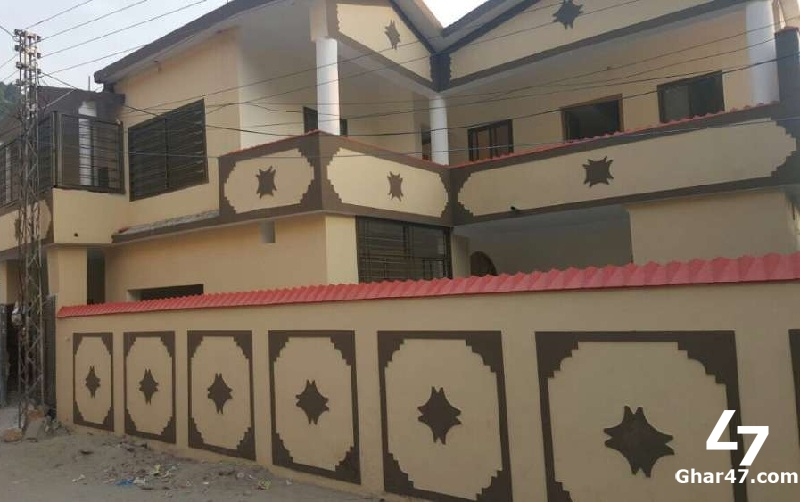 10 Marla Double Storey House For Sale In Gulfan Town Abbottabad