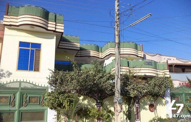 10 Marla House For Sale In Sector J 4 Phase 2 Hayatabad Peshawar