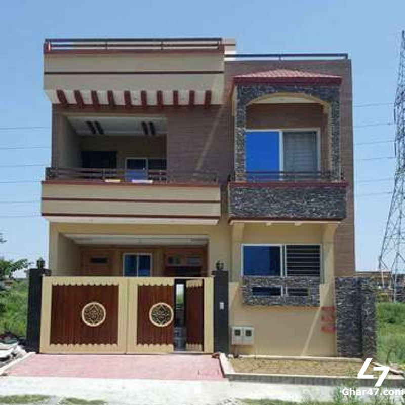 10 Marla House For Sale In Sector J Phase 2 Hayatabad