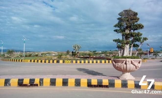 10 MARLA Plot in Gulberg Residencia Islamabad