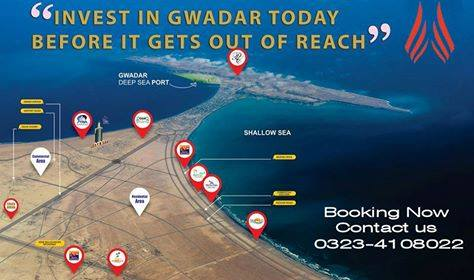 40 Acer Open Land Available for-sale In Jinnah Avenue Road Gwadar