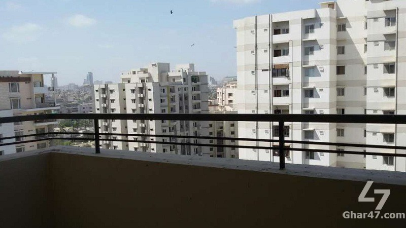 2 BED APARTMENT Blue Bell Residency Bath Island Clifton Karachi