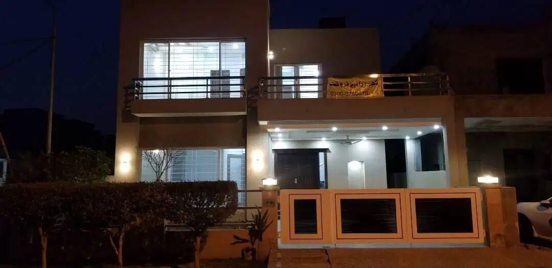 10 Marla Corner House For Sale Divin Gardens, Lahore