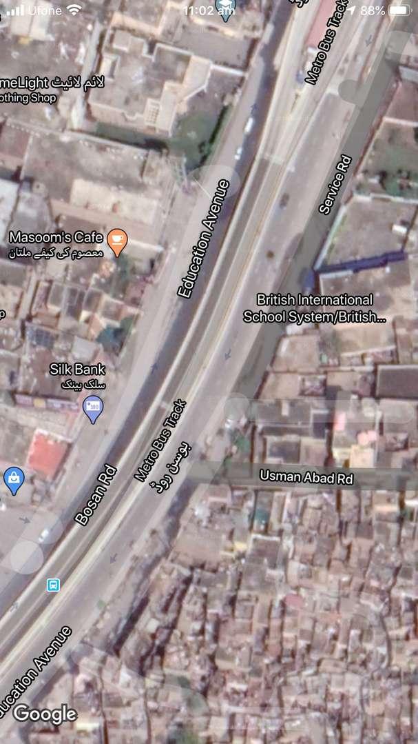 23 Marla Commercial Plot for sale in Bosan road Multan