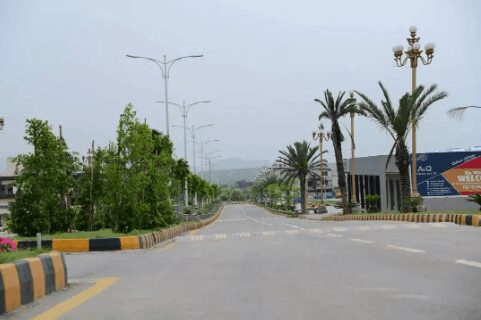 8 Marla Residential Possession Plot For Sale Facing Park in F17 Islamabad