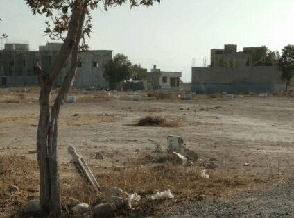 120 Sq Yd Residential Plot For Sale in Saadabad society jinnah Avenue Karachi