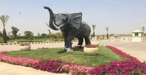 3 Marla Commercial Plot For Sale in Safari Garden Housing Scheme Lahore