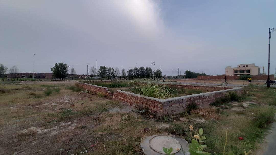 5 Marla Residential Plot For Sale In Eden Garden C-Block Lahore