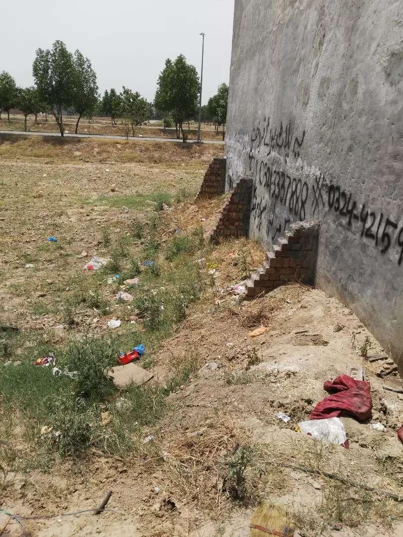 5 Marla Residential Plot urgent sale in Al-hafeez garden phase-ll Lahore