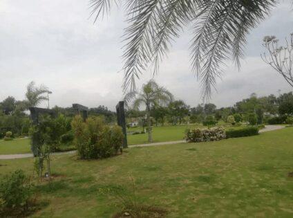 1 Kanal Corner Residential Plot For Sale In Block C Top City Islamabad