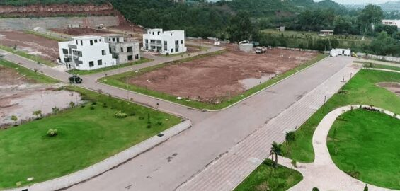 1 Kanal Residential Plot for Sale In Park View City Islamabad