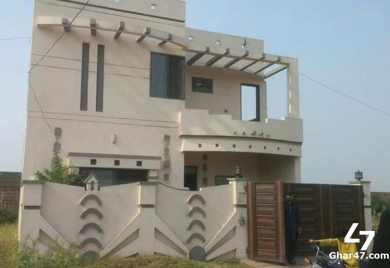 8 Marla Brand New House For Sale In G Magnolia Park Gujranwala