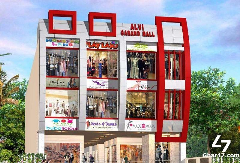 ALVI GRAND MALL Zarrar Shaheed Road Lahore Cantt