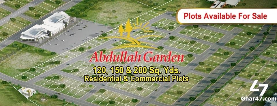 ABDULLAH GARDEN HYDERABAD – 120, 150 & 200 SQ YDS RESIDENTIAL & COMMERCIAL PLOTS