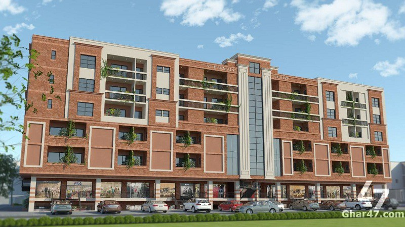 3 BEDROOM Apartment On Booking, Al Harmain Center Faisal Town rawalpindi