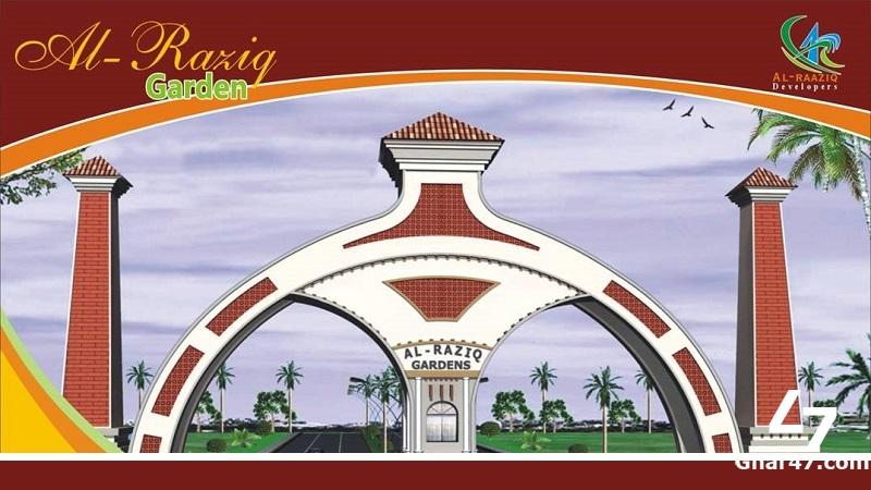 4 Marla Residential Plot Al Raziq Garden Lahore
