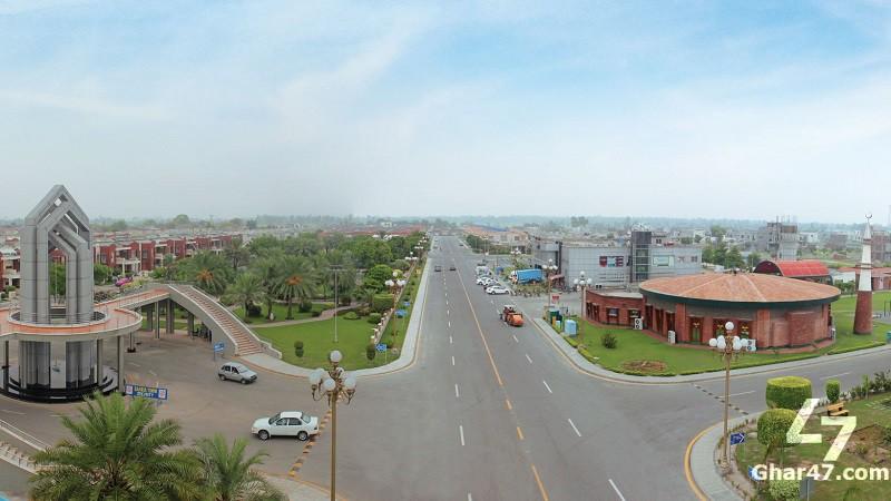 5 Marla Residential Plot Bahria Nasheman Lahore