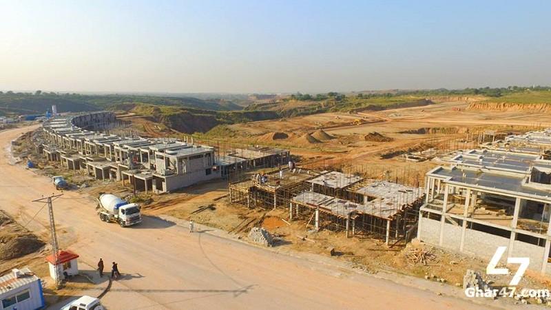 10 Marla Residential Plot Bahria Town Phase 8 G Block Rawalpindi