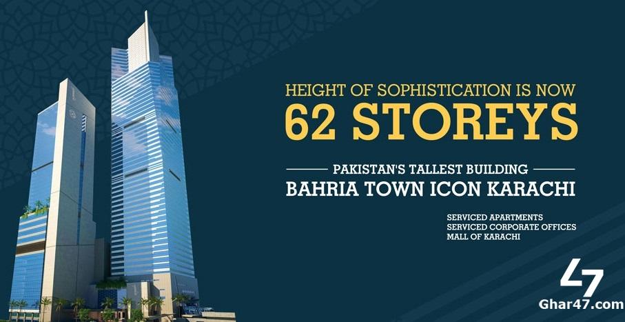 Bahria Town Icon Karachi – BOOKING DETAILS