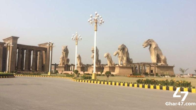 5 Marla Residential Facing Park Plot Citi Housing Gujranwala