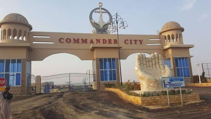 Commander City Karachi