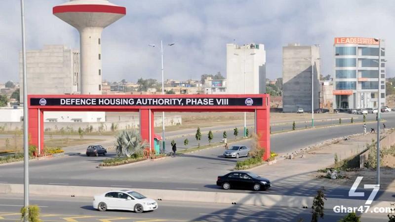 1 Kanal Residential Plot U Block DHA Phase 8 Lahore