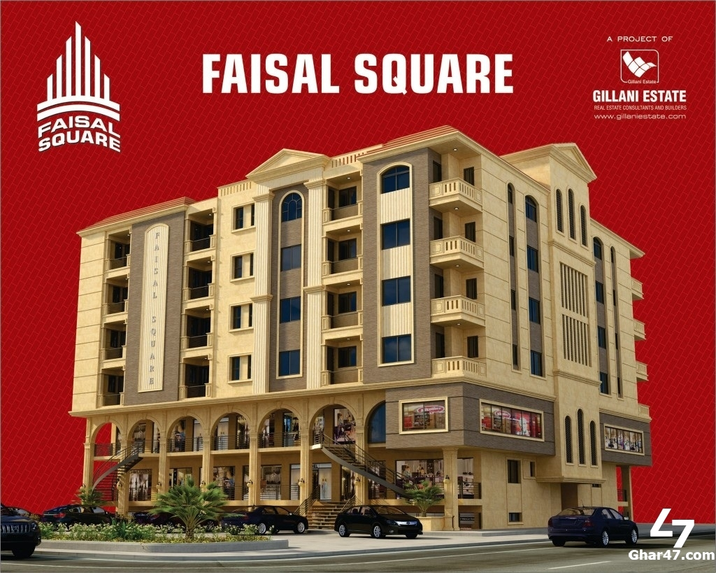 Shops for Sale In Faisal Square Faisal Town Islamabad