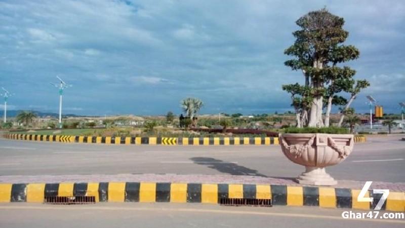 1 Kanal Residential Developed Plot Block J Gulberg Islamabad