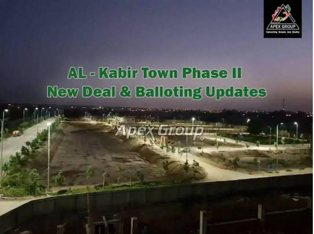Residential Plot for sale Al-kabir Town Lahore