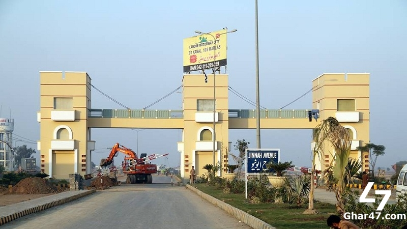 For Sale 5 Marla Residential Plot Motorway City Lahore