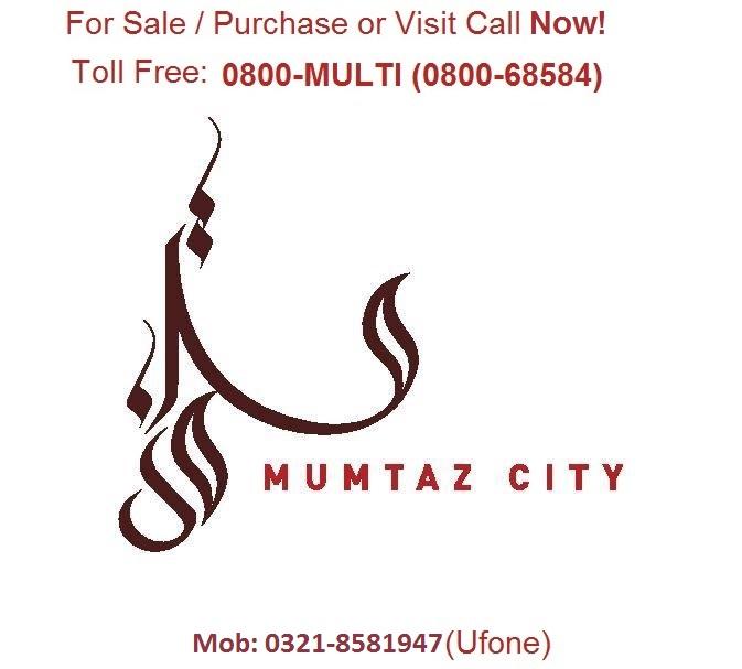 8 MARLA Residential Plot, Chenab Block Mumtaz City Islamabad