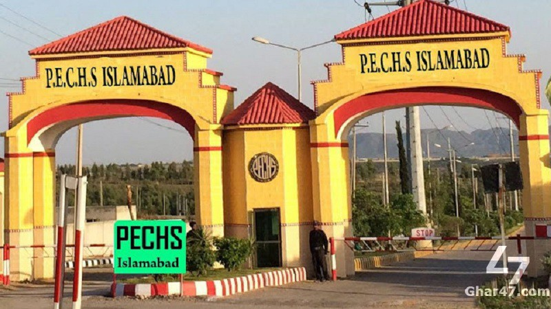 10 Marla Prime Location Plot Available in M Block PECHS Islamabad