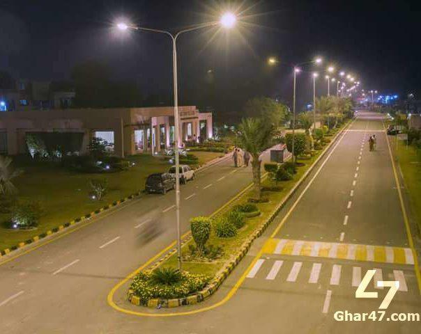 10 Marla Residential Plot Gold Block Park View Villas Lahore