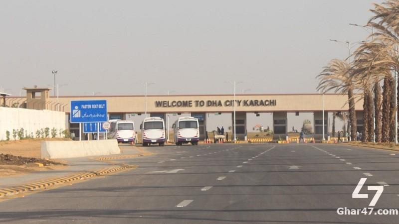 200 Sq Yards Residential Plot DHA City Sector 11 Karachi