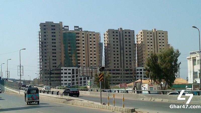 DEFENCE REGENCY Karachi, 5 & 7 Room Apartments