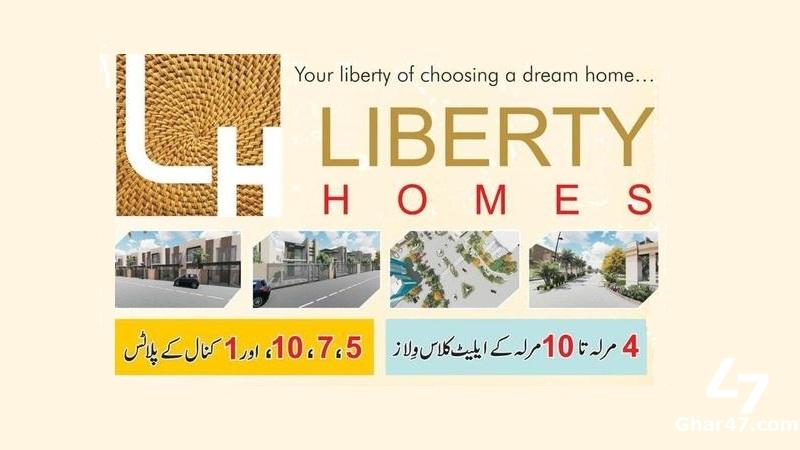Liberty Homes Multan – BOOKING DETAILS