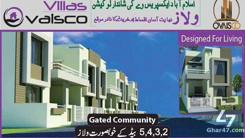 Payment Plan Ovaisco Villas Islamabad