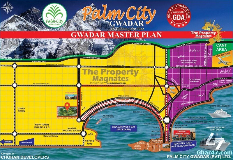 Palm City Gwadar – BOOKING DETAILS