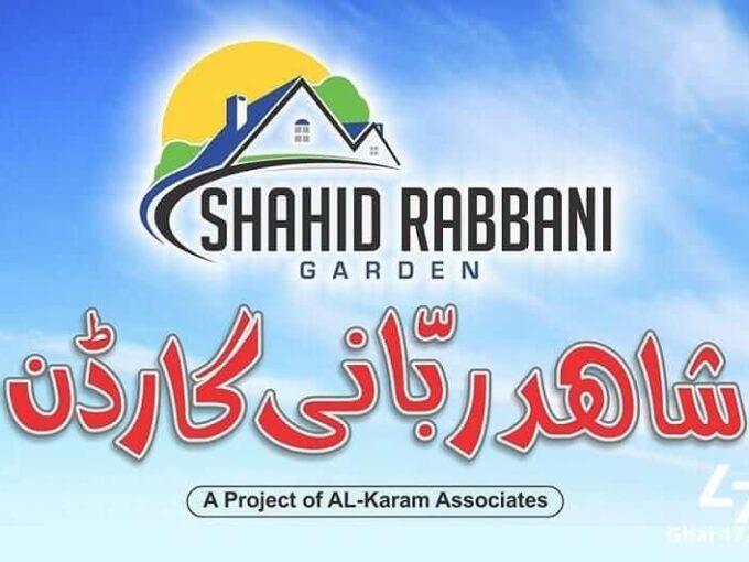 Payment plan of Shahid Rabbani Garden Kasur   
