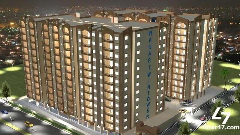 Payment plan of Waqar Twin Tower Karachi|||||