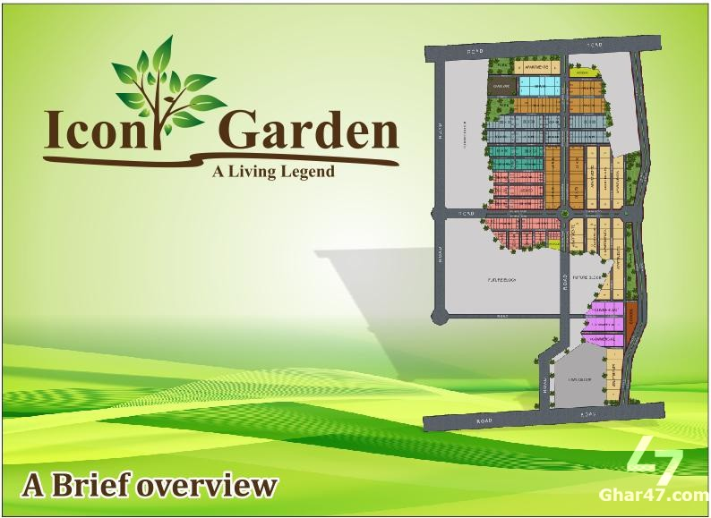 10 MARLA PLOTS On Installment In Icon Garden Islamabad