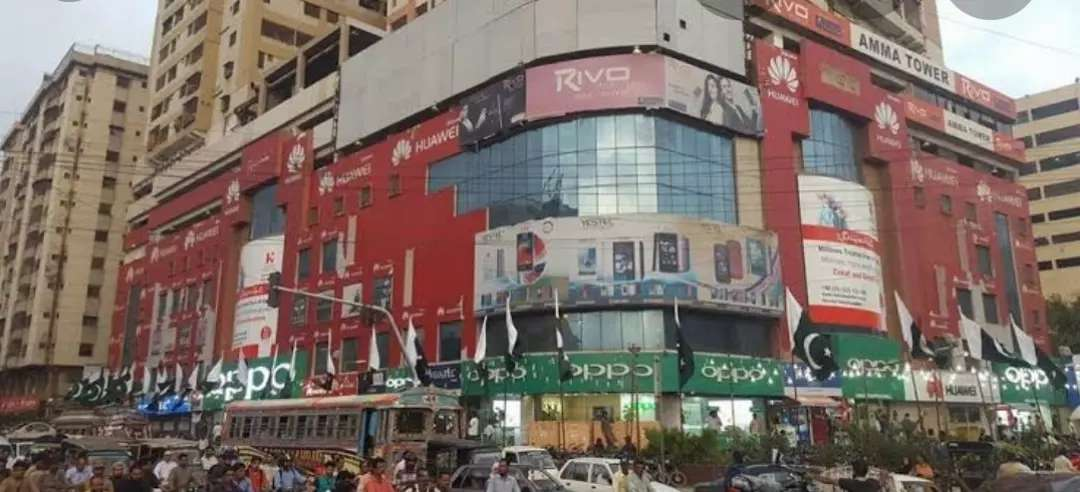 Basement Shop Available for rent in Amma Tower Karachi