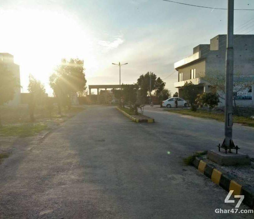 5 Marla Residential Plot Al Haram Garden Lahore