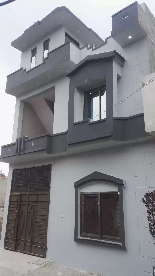 3 Marla Dream New House For Sale in Al-Jannat Homes Society Lahore