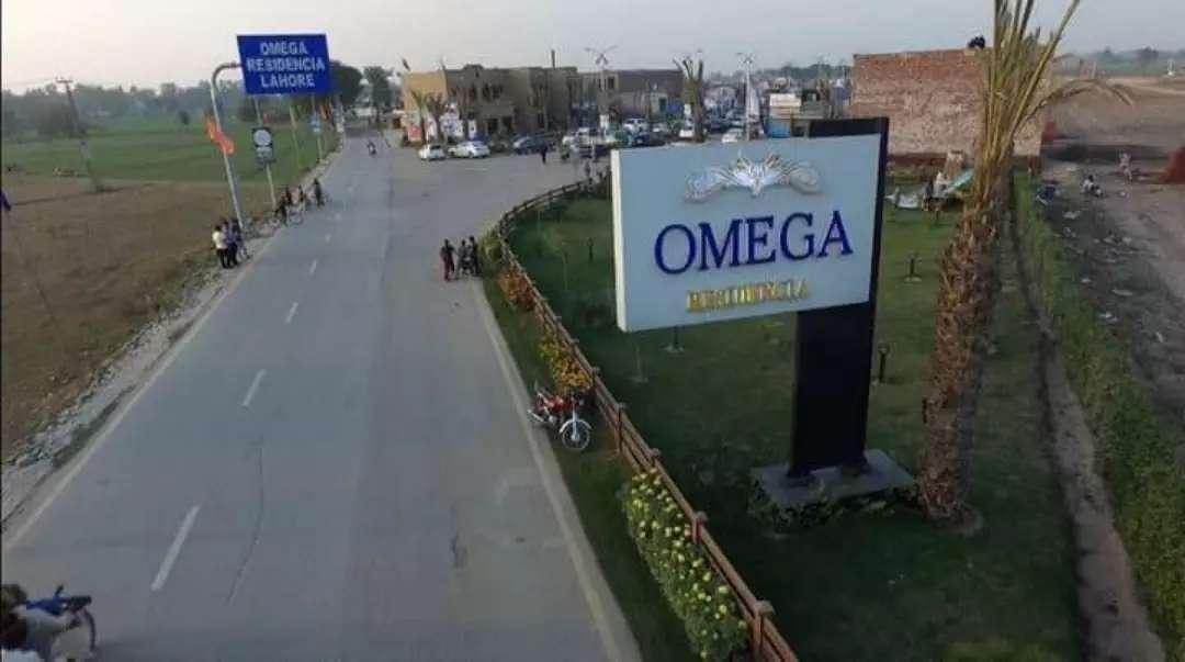 5 Marla Residential Plot File For Sale in Omega Residencia Lahore